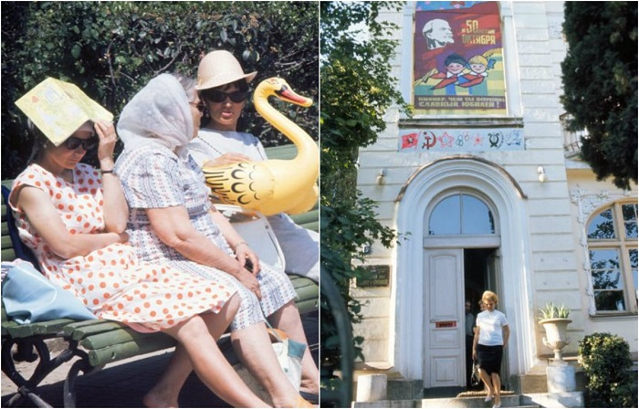 Советский курортный город в объективе иностранца.