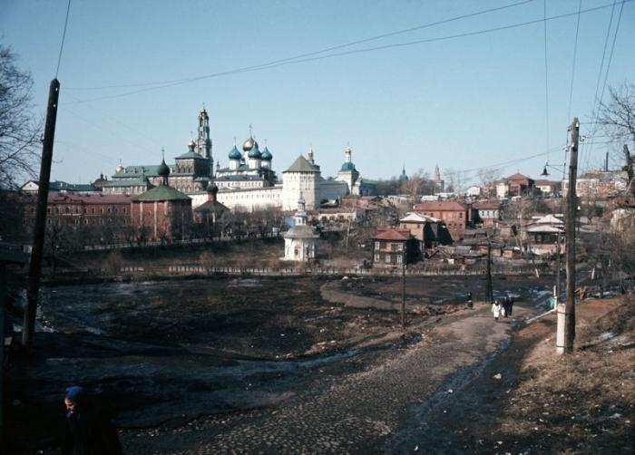 Вид на крымские достопримечательности.