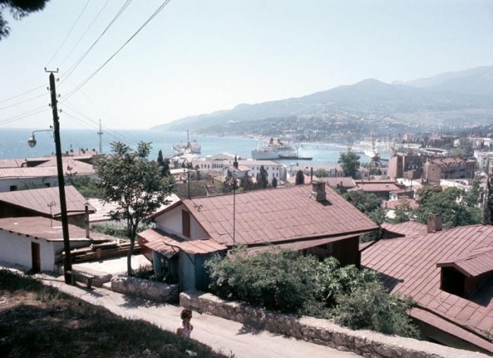 Так выглядел город до прихода массивных бетонных зданий.