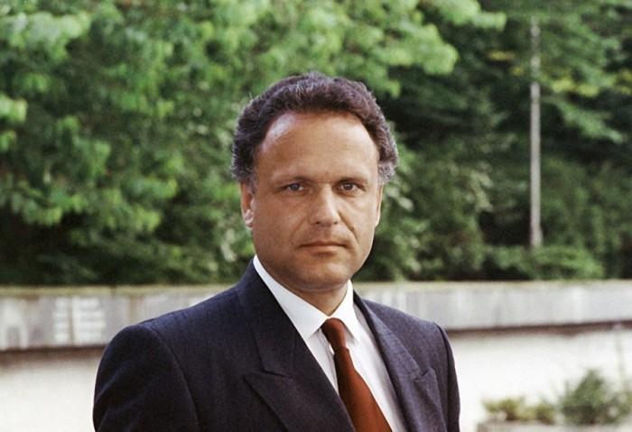 Советский и российский актёр театра и кино, кинорежиссёр. 17 июня 1993 года. Фото Галины Кмит.