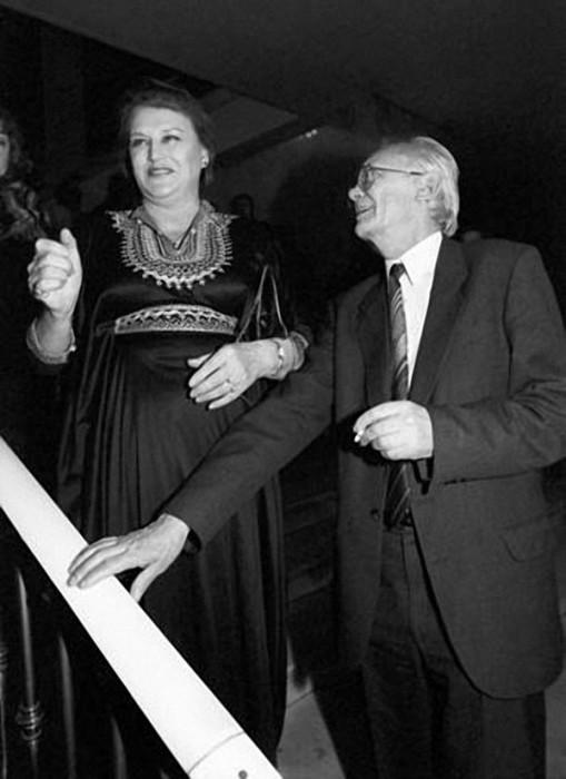 Гений комедий и выдающаяся артистка XX века. 6 января 1992 года. Фото Валерия Христофорова.
