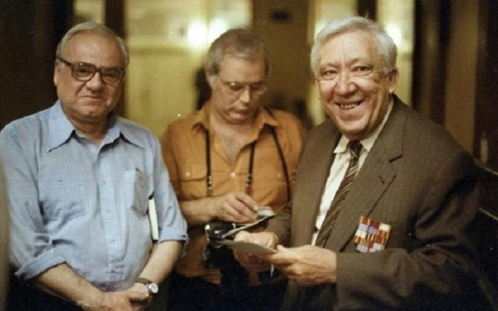 Юрий Никулин в последний день, когда давалось представление в старом цирке на Цветном бульваре. 13 августа 1985 год.