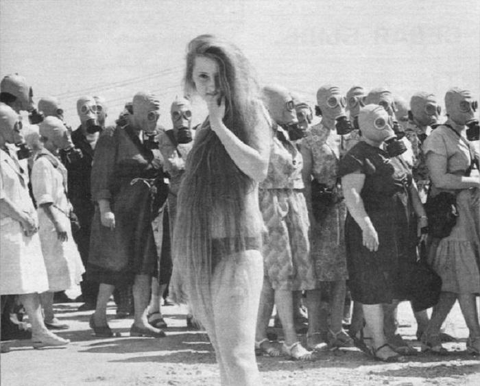 Учебная тревога. Омская область, 1962 год.