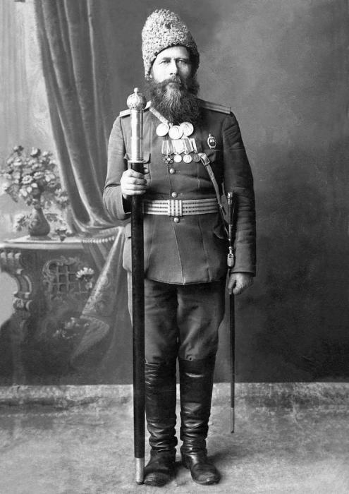 Дмитрий Иванович Каширин — атаман Верхнеуральского казачьего войска. 1900-1915 гг.