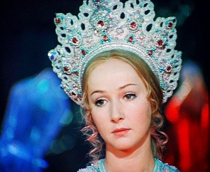 Благодаря своей настоящей славянской красоте девушка получила роль Людмилы в экранизации поэмы «Руслан и Людмила», снятой Александром Птушко в 1972 году.