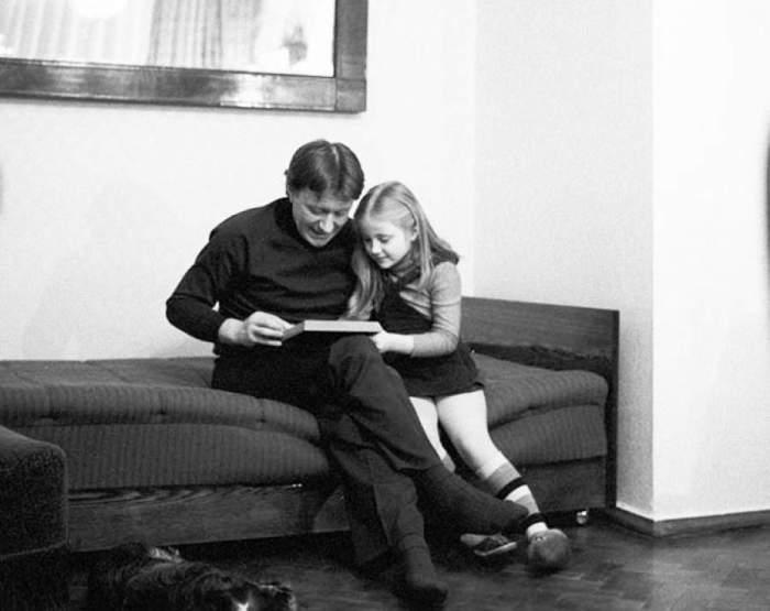 Миронов с дочерью Марией.