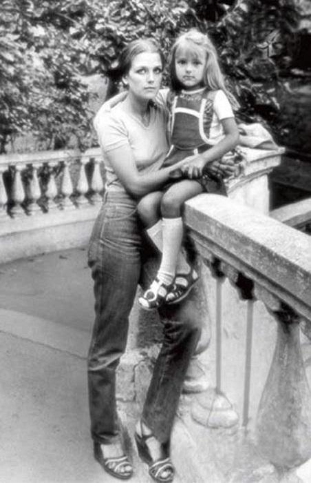 Ирина с дочерью Ксенией.