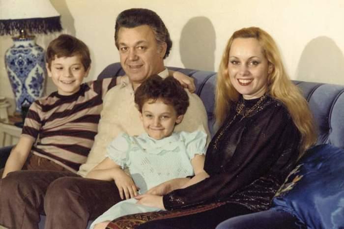 Иосиф и Нелли с сыном Андреем и дочерью Натальей.