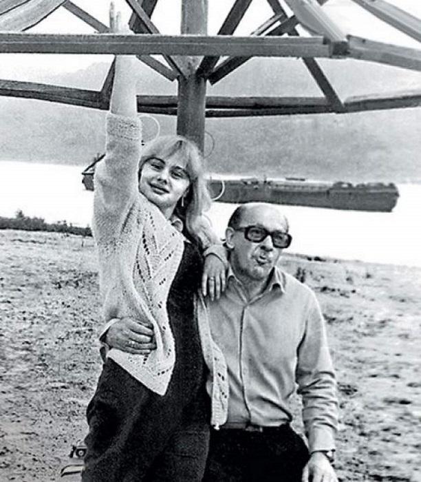 Народный артист с дочерью Машей.