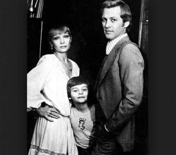 Актеры с младшим сыном Олегом.