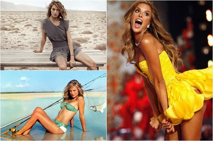 Девушки, покорившие мир модельного бизнеса.