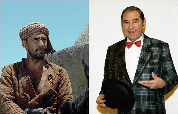 Знаменитый актер, который сыграл множество ролей в театре и кино.