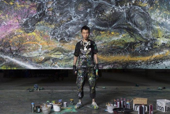 Искусство молодого художника Чен Йингжи.