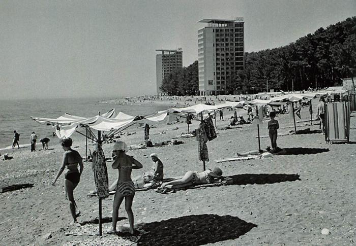 Места пляжного отдыха расположены в близости с удобными местами проживания.