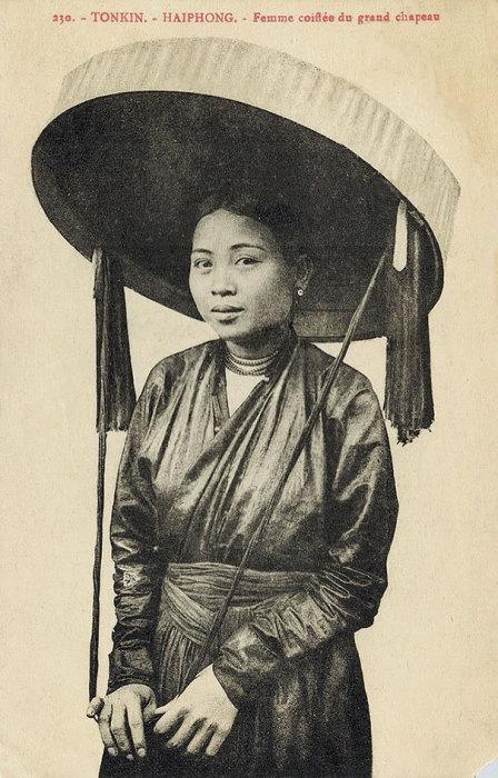Девушка из Тонкина, Въетнам.