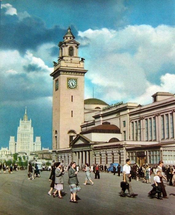 Киевский вокзал Википедия