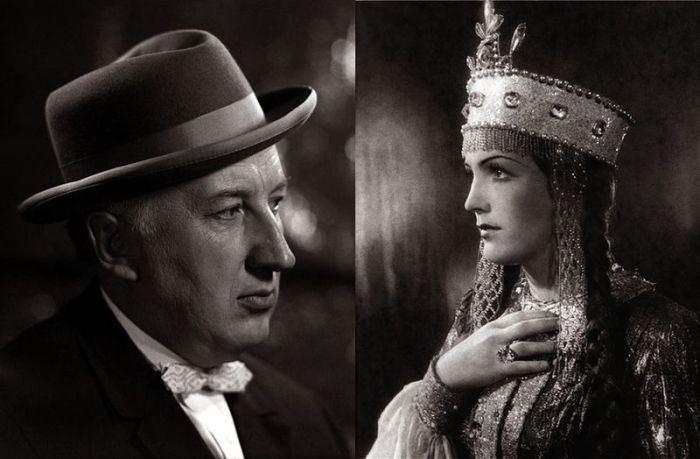 Первой женой Георгия была актриса Григорьева.