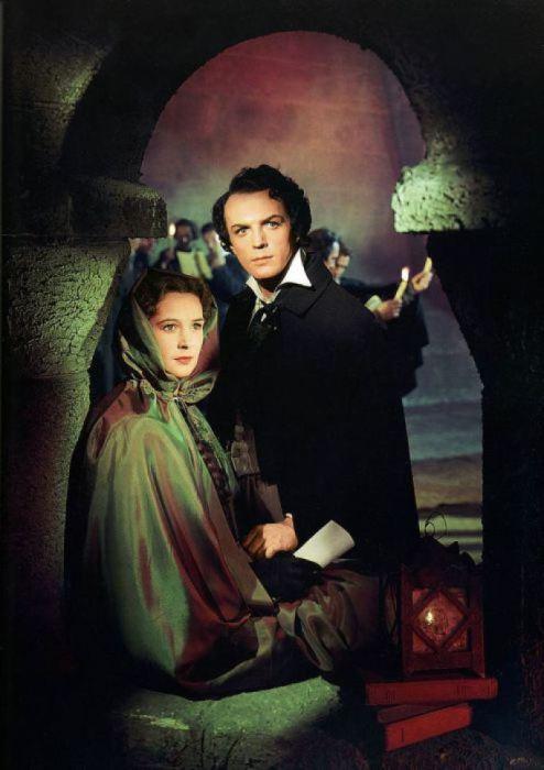 Артур и Джемма в фильме Александра Файнциммера «Овод», 1955 год.