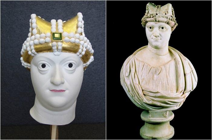 Первая единодержавная императрица на византийском престоле.