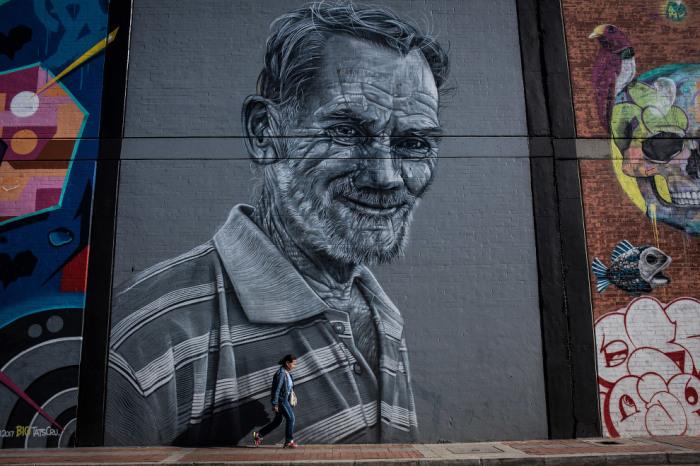 Для фестиваля городские власти выделили восемнадцать стен на роспись национальным и международным художниками.