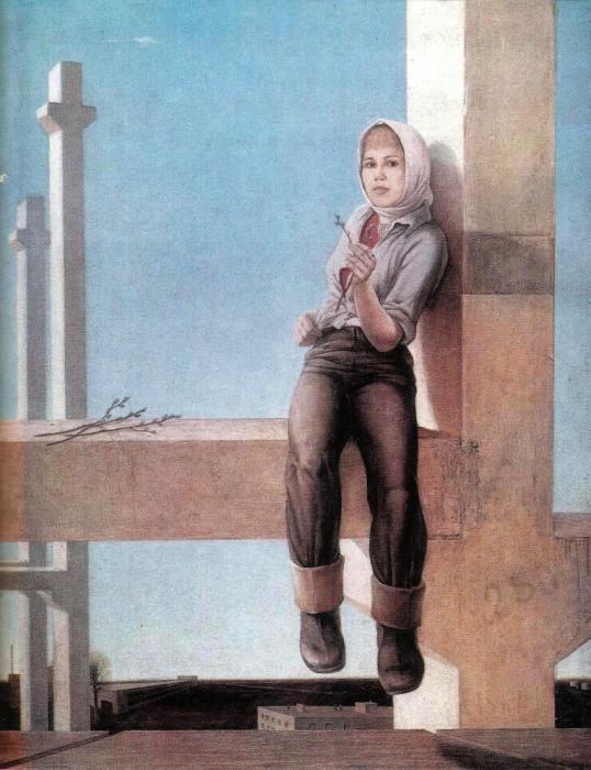 Автор плаката: Ян Юлианович Крыжевский, 1976 год.