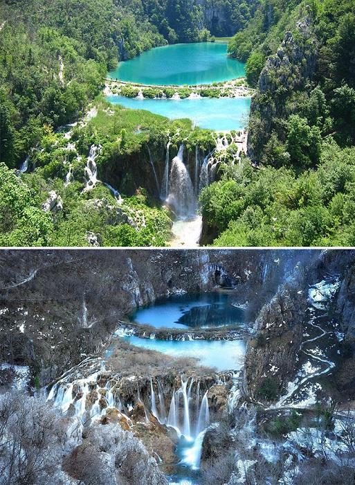 Хорватский парк - это самый красивый и старый заповедник, который включённый в список Всемирного наследия «ЮНЕСКО».