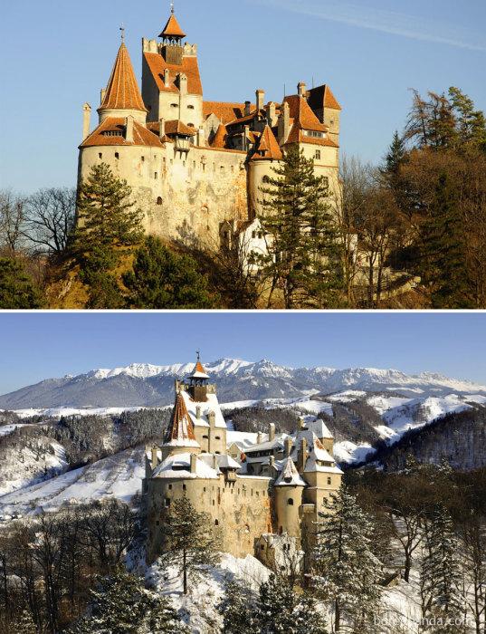 Стратегическая оборонная крепость находится в 30 километрах от Брашова.
