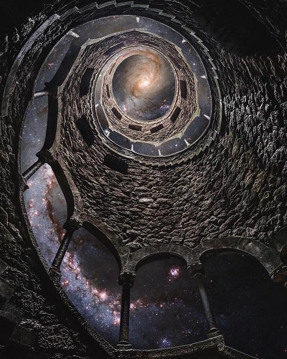 Винтовая лестница - открытый путь к звездам.
