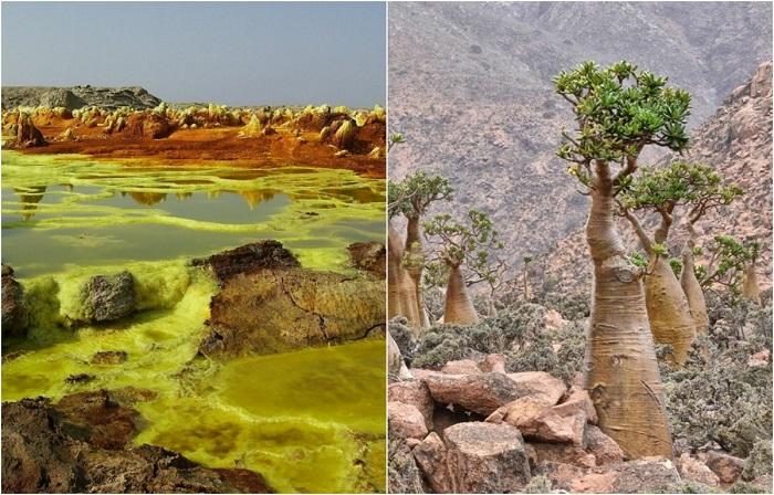 Невероятные пейзажи из разных уголков Земли.