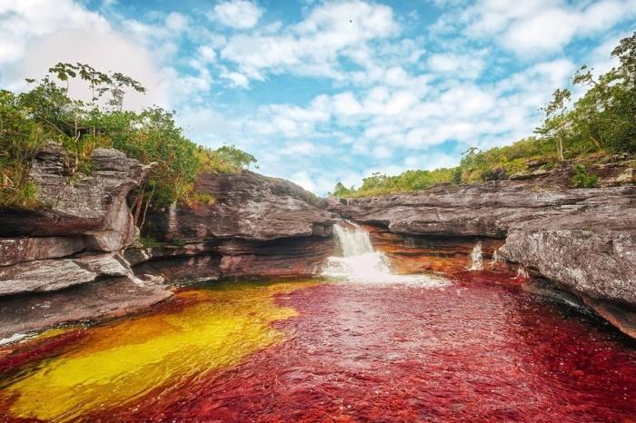 Река пяти цветов по праву считается самой красивой в мире.