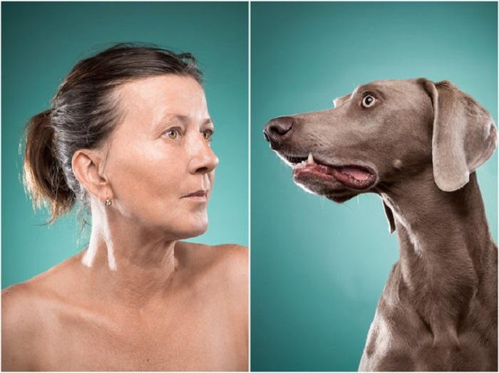 Хайди и ее пес Боб всегда очень внимательны к деталям.