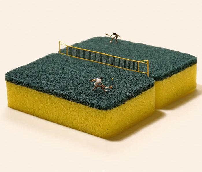 Надлежащие тренировки в теннисе.