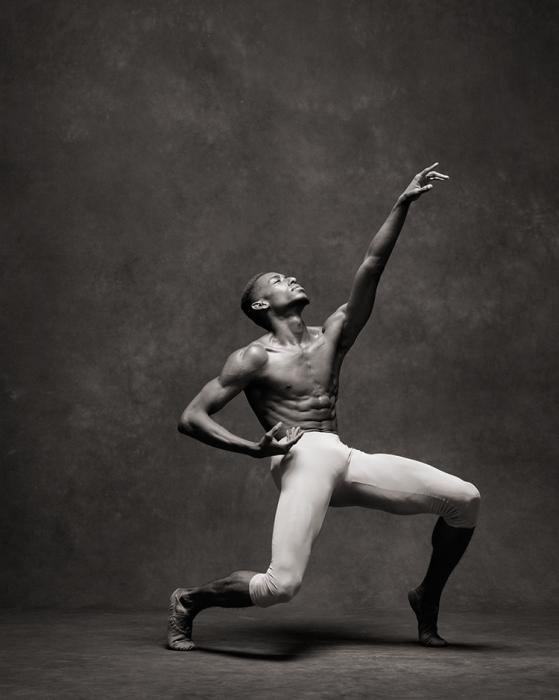 Танцор современного балета (Complexions Contemporary Ballet).