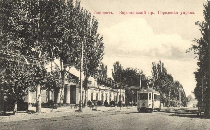 Главное здание Воронцовского проспекта.