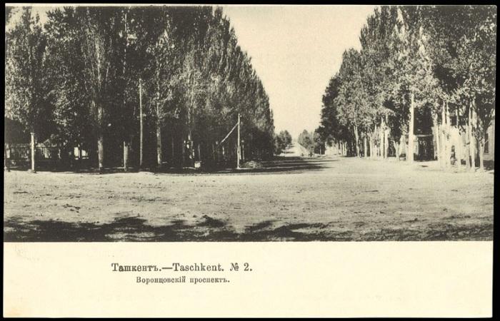 Одна из старейших улиц в Ташкенте.