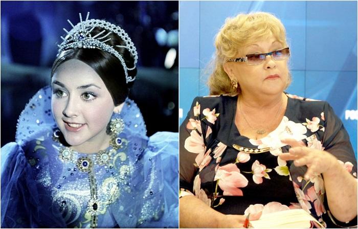 Советская актриса, прославившаяся исполнением главной роли в фильме-сказке «Варвара-краса, длинная коса».