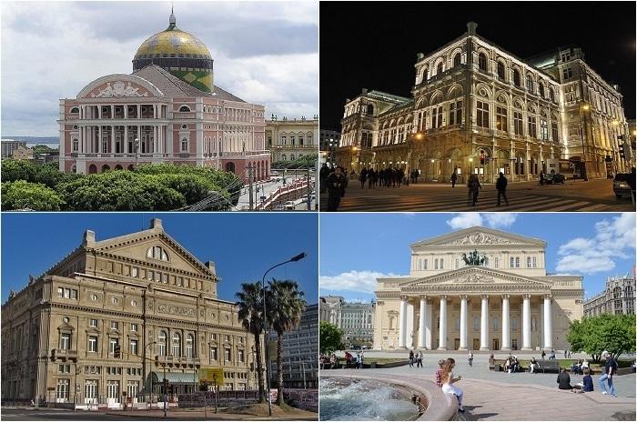 Самые большие оперные театры мира.