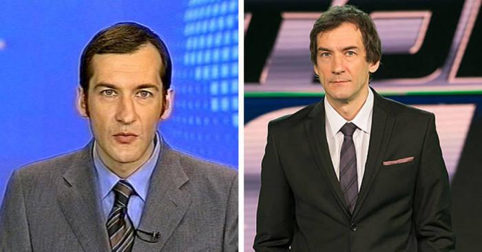 Телевизионную карьеру начал на «Третьем канале» с программ «Итоги недели», «Главная тема» и «Цена вопроса».