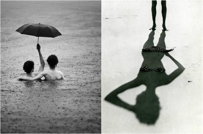 Завораживающие чёрно-белые снимки.