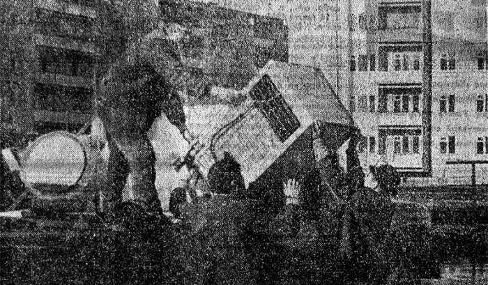 В 1962 году Минский завод выпустил свой первый холодильник «Минск-1».