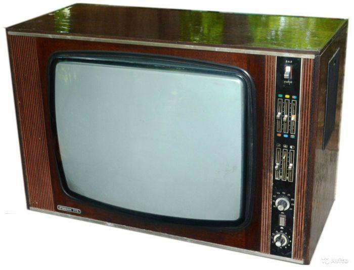 «Рубин-714» самый массовый цветной телевизор времен СССР.