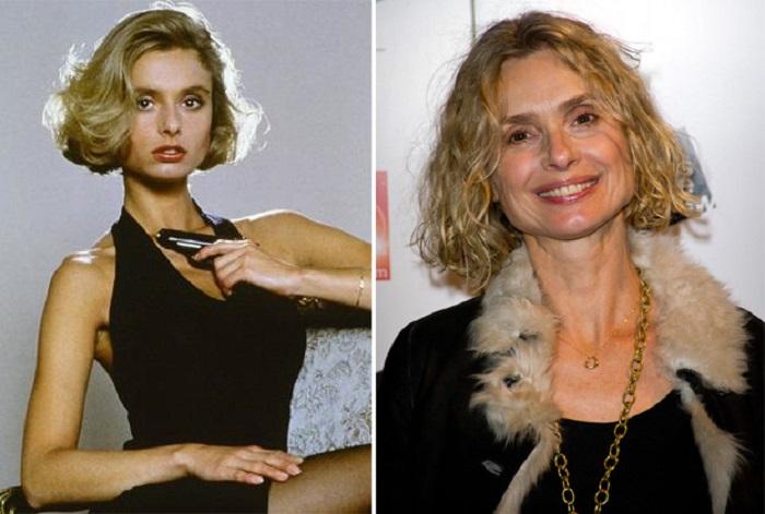 Британская актриса, наиболее известная по роли девушки агента 007 в фильме «Искры из глаз» 1987 года.