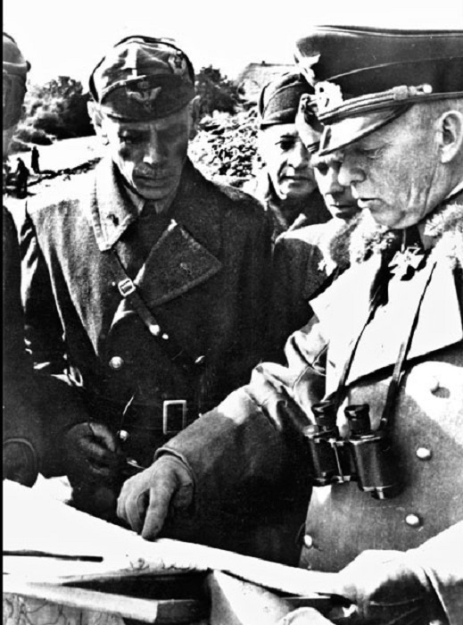 Командующий 1-й танковой армией Э. Клейст.