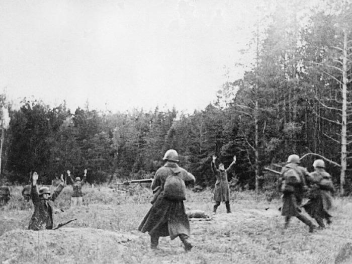 Западный фронт, октябрь 1941 года.