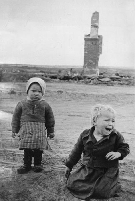 Тяжёлая доля детей в годы Великой Отечественной войны.