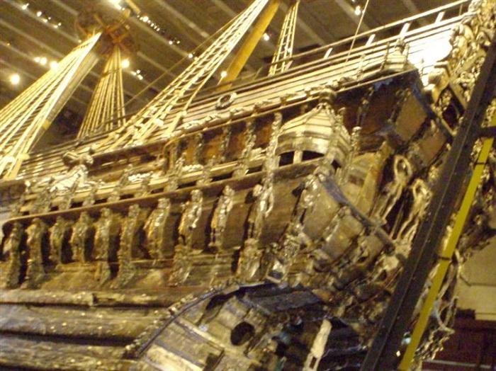 Испанский галеон, затонувший в 6 сентября 1622 года у побережья Флориды в результате шторма.