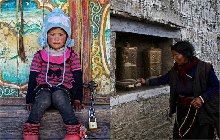 Неспешная жизнь тибетской границы.