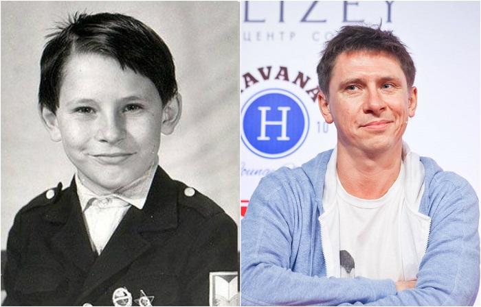 Знаменитый актер и телеведущий во время учебы в школе принимал активное участие во всевозможных мероприятиях, чем завоевывал уважение среди одноклассников.