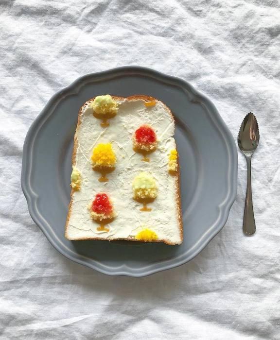 Клубничное варенье, арахисовый крем, лимонный сироп и… маленький секрет на завтрак!