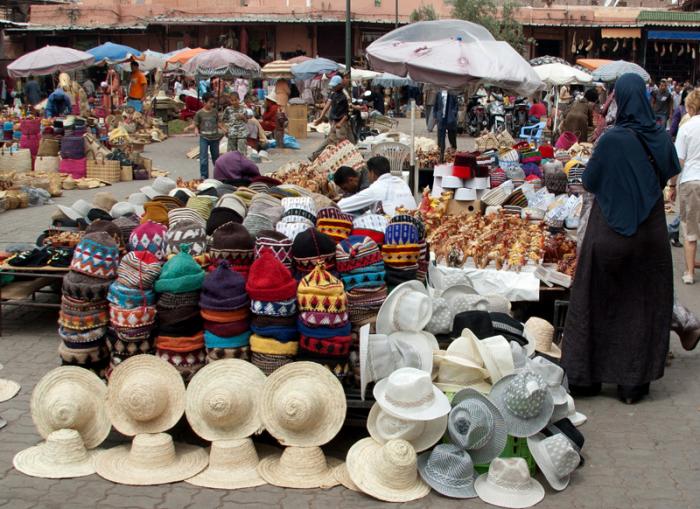 Сердце марокканского Востока - мировой центр производства и потребления специй и пряностей.